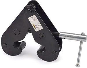 Riggatec Attache de Poutre Noir 1t – 75-230 mm