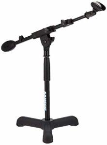 Samson MB1 Pied de microphone bas/trépied + Pince micro Noir