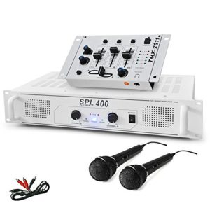 SET DJ « DJ-94 » Ampli Table de mixage Microphone 1200W