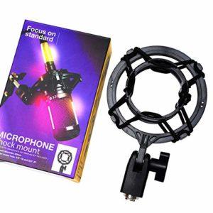 Support de suspension anti-vibration pour microphone PEBA, compatible avec les modèles de microphones Audio-Technica AT2020, AT2020 USB, AT2035, AT2050, AT3035, AT3060
