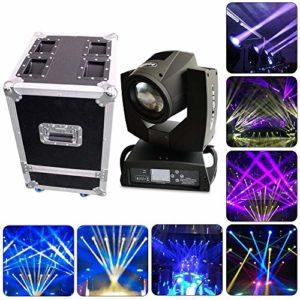 230w 7R faisceau zoom tête mobile scène lumière 16 + 8 effet de prisme, haute vitesse stroboscopique DJ éclairage de scène pour Bar Club Dj Disco Home Party bandes montrer Mini lumières d'araignée