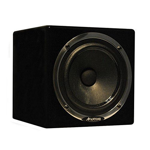 Active MixCubes black / Moniteur de studio actif simple/ pi�ce