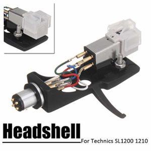 AKDSteel LP Audio Phono Stylus Cartridge Unit Headshell Record Turntable Technics