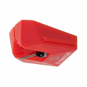 Audio Technica AT-VMN95ML Microlinear Stylus Works with Cartridge AT-VM95ML (Red)