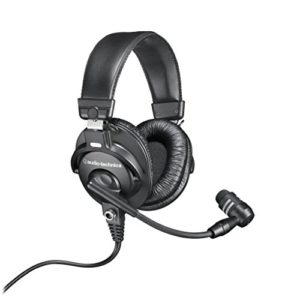 Audio-Technica BPHS1 Casque stéréo Broadcast avec micro dynamique