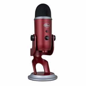 Blue Microphones SYktcjgs Yeti USB Mic Microphone Rouge Carmin
