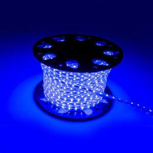 Cordon lumineux LED bleu -Tube lumineux- Bande LED (15 mètres)