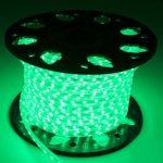 Cordon lumineux LED vert-Tube lumineux- Bande LED (15 mètres)