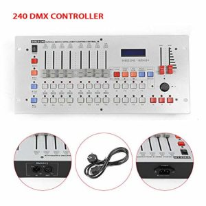 DMX512 LCD Display canaux Console de mixage Console pour éclairage de scène DJ