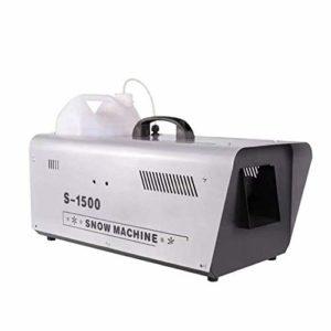 Excellente l'hiver 1500W Machine à Neige Artificielle Effet Contrôle Filaire Flocons de Neige Très Réaliste Idéale pour de Noël Halloween Animations 54 * 34 * 35cm Prendre Plaisir