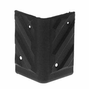 fivekim 4 pièces Haut-Parleur Coins en Plastique Angle Droit Arrondi Protecteur Guitare Amplificateur Stage Cabinets Accessoires Remplacement en Plastique Haut-Parleur d'angle Droit