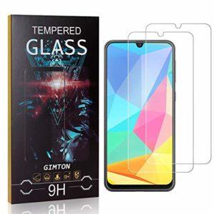 GIMTON Verre Trempé pour Galaxy M30S, 3D Touch Ultra Résistant Protection en Verre Trempé Écran pour Samsung Galaxy M30S, sans Traces de Doigts, 2 Pièces