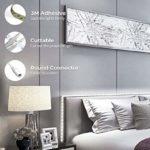 Govee Kit de Ruban LED Blanc Froid 5M Dimmable, Bande LED 12V 300 LED 6500K Lumière Blanche, Bande LED Flexible et Autocollante, Eclairage Indirect pour Vitrine, Escalier, Etagères, Présentoir