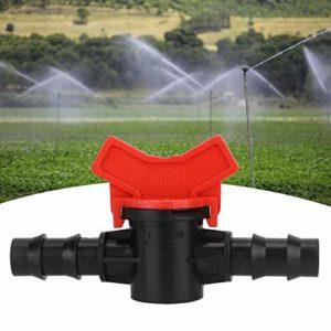 HelloCreate Lot de 20 micro soupapes d'irrigation droites pour jardin