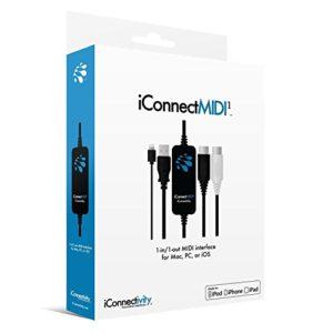 iconnectivity RECORDING et interface ordinateur midi1L