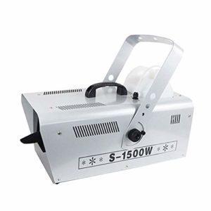 LYYAN Excellente 1500W Machine à Neige Artificielle Effet Flocons de Neige Très Réaliste Télécommande sans Fil Contrôleur Idéale pour de Noël Halloween Animations 51,5 * 22,5 * 22,5cm Prendre Plaisir