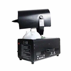 LYYAN Excellente Machine à Neige Artificielle 2000W Effet Flocons de Neige Très Réaliste Télécommande sans Fil Contrôleur Idéale pour Noël Animations Secouez la Tête à 180 ° Prendre Plaisir