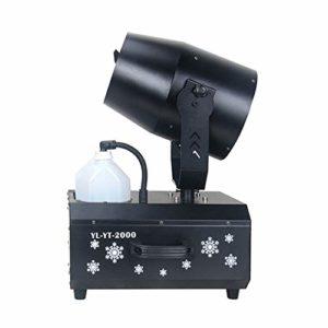 LYYAN Excellente Machine à Neige Effet Tempête de Neige Taille Ajustable du Flocon de Neige Télécommande sans Fil Contrôleur Neige Rotatif à 180 ° Idéale pour de Noël Halloween Prendre Plaisir
