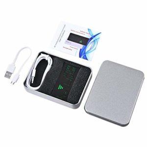 Mini changeur de Voix Dispositif Changement de Voix Modes Microphone Disguiser Téléphone Microphone Adaptateur de changeur de Voix-Noir
