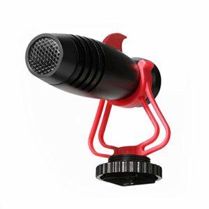 Mini Microphone à Condensateur, Compatible Vidéo Portable Micro Externe, Pour Appareil Photo Reflex Numérique, Smartphone, Interview, Podcast, Streaming En Direct
