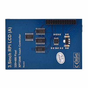 Module d'affichage à cristaux liquides de module d'écran de moniteur, moniteur d'écran d'affichage de module d'affichage à cristaux liquides de 3,5 pouces TFT pour la boîte de radiateur de framboise P
