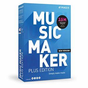Music Maker 2021 Plus Edition : la production musicale en 5 clics|Plus|Multiple|Endless|PC|Disque