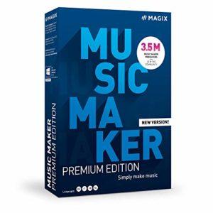 Music Maker 2021 Premium Edition : plus de sons et plus de possibilités pour une production musicale facile|Premium|Multiple|Endless|PC|Disque