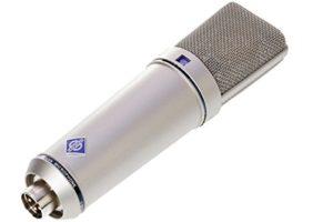 Neumann u89ai-u-89les modèles avec microphone multipatron 5diaphragme en nickel