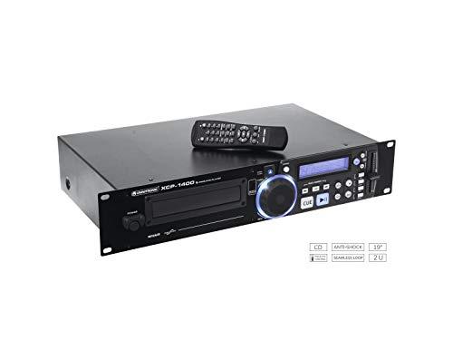 OMNITRONIC XCP-1400 lecteur-CD simple