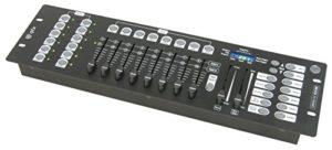 QTX dm-x10192canaux DMX contrôleur