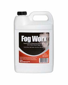 Sanco Industries Fluide Brouillard Organique (128 oz) – densité Moyenne, élevée de Sortie, Long Lasting Machine de Brouillard Fluide pour 400 Watt à 1500 Watt Machines 1 Gallon