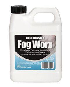 Sanco Industries Fogworx extrême Haute densité jus Brouillard – Longue durée, à Haute Production, inodore à Base d'eau Machine à Brouillard Fluide – 1, 32 pintes onces HD pintes