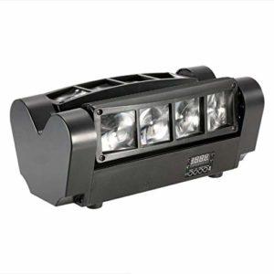 Scène, Mini Lyres Effet Lumineux avec LED Scène Automatique Rotating Party Disco Club avec des Spots D'éclairage De Scène De Contrôle À Distance,1