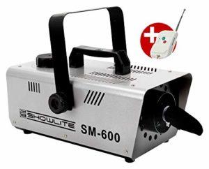 Showlite SM-600 machine à neige 600 W, y compris la télécommande