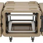 SKB 3SKB-R906U24T Etui rack avec amortisseur de vibration 6U Brun