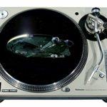 Slipmat Tapis antidérapant en feutre pour platine vinyle LP DJ 30,5 cm Motif Millenium 1