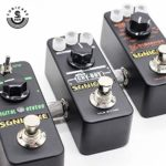 SONICAKE Guitare Basse Accessoires 1/4 Pouce 6.35mm Mâle à Mâle Effets Pédale Droite Coupleur Connecteur (5PCS)