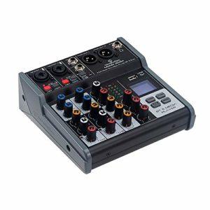 Soundsation MIOMIX 204FX Mixeur à 6 canaux avec multi-effet numérique