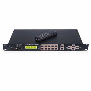 SSeir Le Processeur Audio Numérique Professionnel Karaoke Peut Être Configuré Via Une Interface PC avec Télécommande