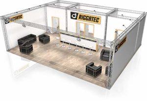 Stand de Foire FD 24-10 x 8 x 3,22 m (LxHxH) – 80 m²