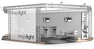 Stand de Foire FD 34-10 x 5 x 3 m (LxHxH) – 50 m²