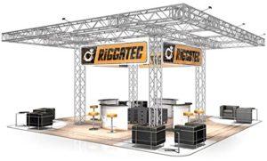 Stand de Foire FD 44-10 x 10 x 4,4 m (LxHxH) – 100 m²