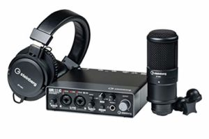 Steinberg UR22C Recording Pack – UR22C Interface with Headphones and Microphone