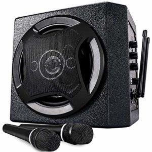 TONOR Haut-parleur Bluetooth 50W avec Microphone Portable sans Fil Système de Sonorisation pour Réunion, Salle de Classe, Conférence, Petite Représentation et Réunion Familiale