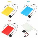 XuCesfs – Plaque électroluminescente à découper, avec actionneur 12 V A6 EL