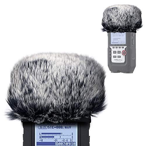 YOUSHARES Pare-brise Bonnet pour ZOOM H4N Pro Enregistreurs Portables, Bonnette en Fourrure à Anti Vent