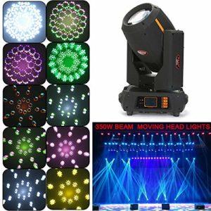 Zephyri 350W Éclairage de scène DMX512 17R PHX Beam Moving Head Light Lumière de scène