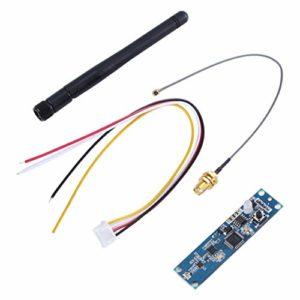2.4 Ghz sans fil DMX 512 émetteur récepteur PCB 2 en 1 carte de module antenne sans fil Dmx pour contrôleur d'éclairage de scène DMX, bleu