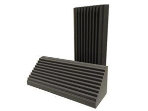 Advanced Acoustics Wedge Bass Trap Lot de 2éléments en mousse pour isolation acoustique 0,9m