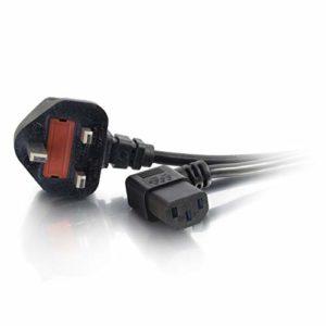 Cables To Go Câble d'alimentation universel 90° 5m